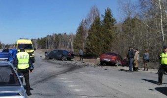 В ДТП с тремя автомобилями под Томском погиб водитель ВАЗа