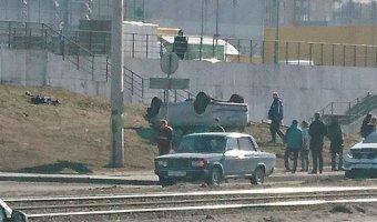 В Петербурге автомобиль вылетел на тротуар и насмерть сбил двух человек