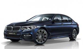 В Сети появились официальные фотографии удлиненного седана BMW 5-Series Li