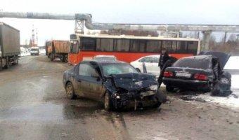 В Тобольске в ДТП пострадали пять человек