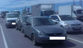 В массовой аварии на Ставрополье погиб пожилой мужчина