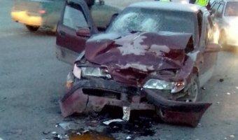 В Орске по вине пьяного водителя Daewoo в ДТП пострадал его пассажир