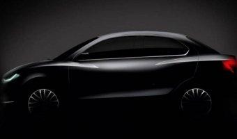 Suzuki показали новый бюджетный седан Dzire
