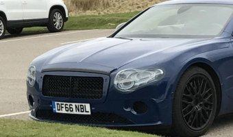 Обновленный Bentley Continental GT попал на фото без камуфляжа
