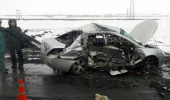 В ДТП на трассе Норильск – Алыкель погиб пассажир иномарки
