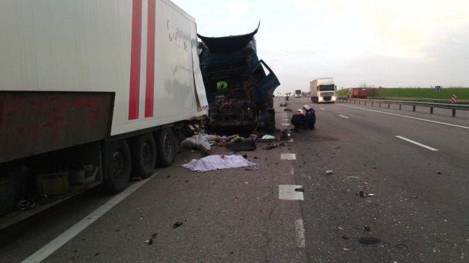 На трассе «Дон» в ДТП погиб водитель фуры (1).jpg