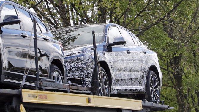Кроссовер BMW X4 «засветился» на шпионских фото (5).jpg