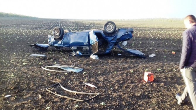 Пьяный водитель «семерки» погиб в ДТП в Брюховецком районе (2).jpg