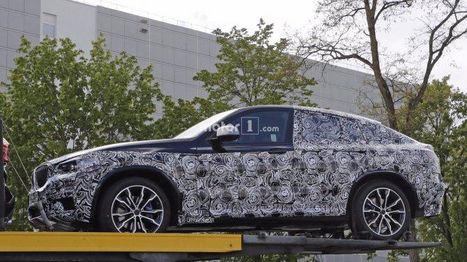 Кроссовер BMW X4 «засветился» на шпионских фото (7).jpg