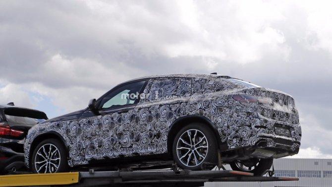 Кроссовер BMW X4 «засветился» на шпионских фото (3).jpg