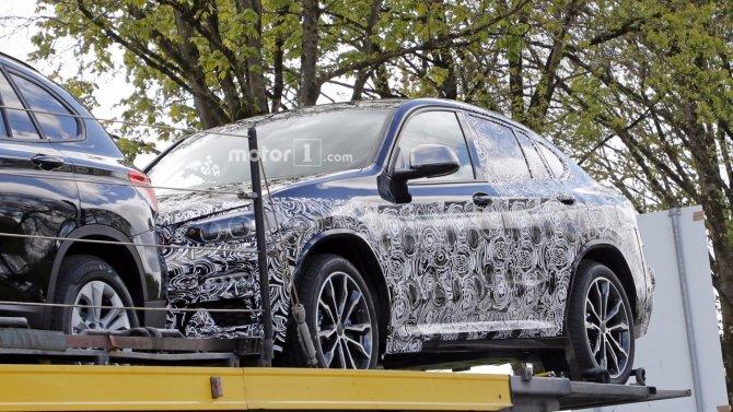 Кроссовер BMW X4 «засветился» на шпионских фото (6).jpg