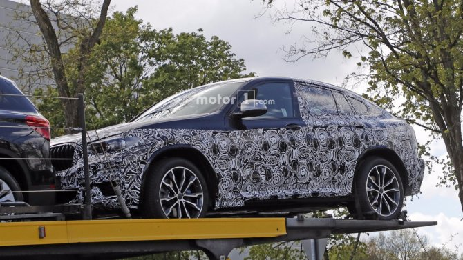 Кроссовер BMW X4 «засветился» на шпионских фото (2).jpg
