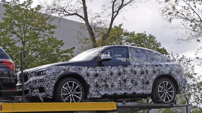 Кроссовер BMW X4 «засветился» на шпионских фото (1).jpg