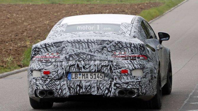 На тестах снова замечен седан Mercedes-AMG GT (5).jpg