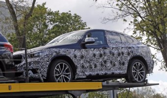 Кроссовер BMW X4 «засветился» на шпионских фото