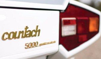Lamborghini Countach 5000 с золотыми вставками продадут на аукционе