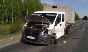 В Башкирии в ДТП с двумя «Газелями» погиб таксист