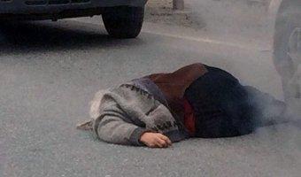 Под Новосибирском Toyota насмерть сбила женщину