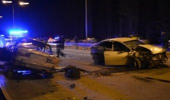 В ДТП в Ханты-Мансийске погиб водитель ВАЗа