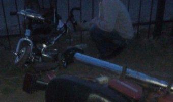 В Рыбном мотоциклист сбил ребенка и скрылся
