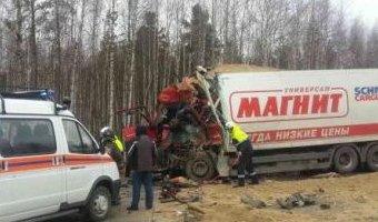 Водитель грузовика погиб в ДТП на трассе Сургут – Нижневартовск