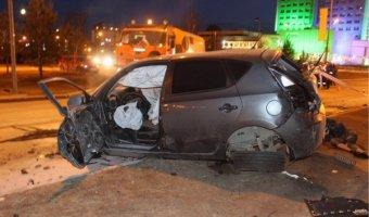 В ночном ДТП в Сургуте погибли два человека