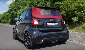 Тюнинг-ателье Brabus представило Smart ForTwo в версии Ultimate 125