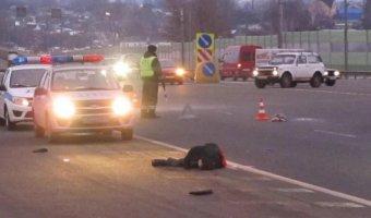 В Сафоновском районе пешеход погиб под колесами двух автомобилей