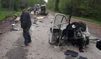 На трассе «Крестцы – Окуловка» в ДТП погиб водитель «Газели»