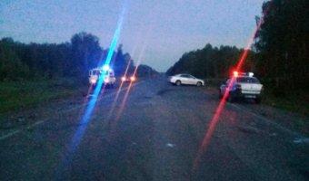 Один человек погиб и трое пострадали в ДТП на томской трассе