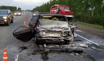 В Мичуринском районе в ДТП с грузовиком погибли два человека