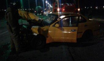 В Улан-Удэ в ДТП с такси погибла женщина