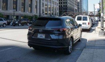 В Сети появилось фото кроссовера Mazda CX-8