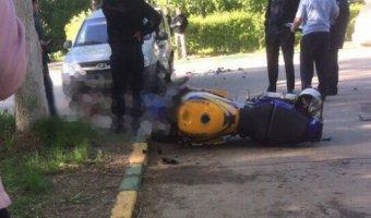 В Арзамасе в ДТП погиб мотоциклист