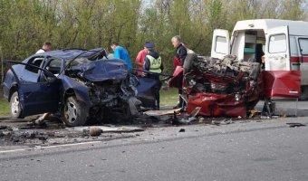 В страшном ДТП под Сызранью погибли три человека