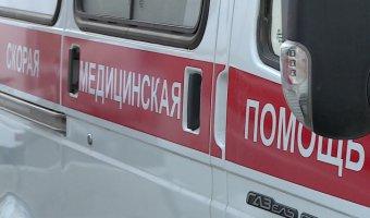 В Подмосковье опрокинулся автобус с пассажирами