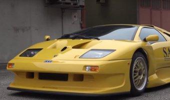Lamborghini представили уникальный Diablo GT1 Stradale