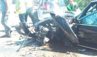 В ДТП под Геленджиком погиб водитель Mercedes