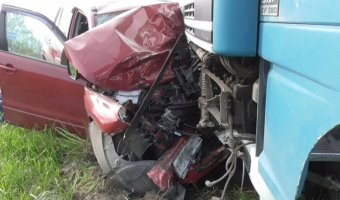 В ДТП с грузовиком на трассе М-5 погибла женщина