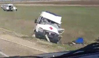 В ДТП с КамАЗом под Магнитогорском погиб водитель «скорой»