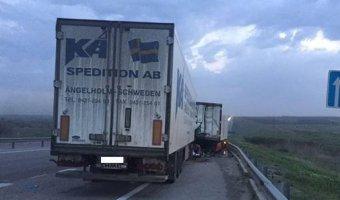 На трассе «Дон» в ДТП погиб водитель фуры