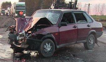 В Игринском районе в ДТП погибла пассажирка ВАЗа