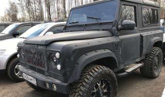 Российский авто-дизайн: Land Rover Defeneder в глубоком тюнинге