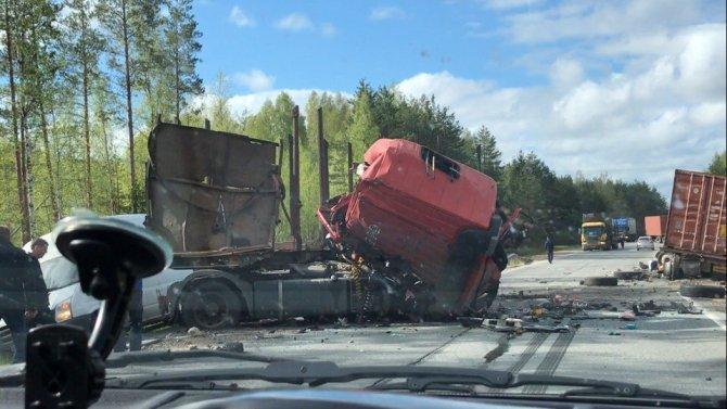 В ДТП под Лодейным Полем погиб водитель грузовика (2).jpg