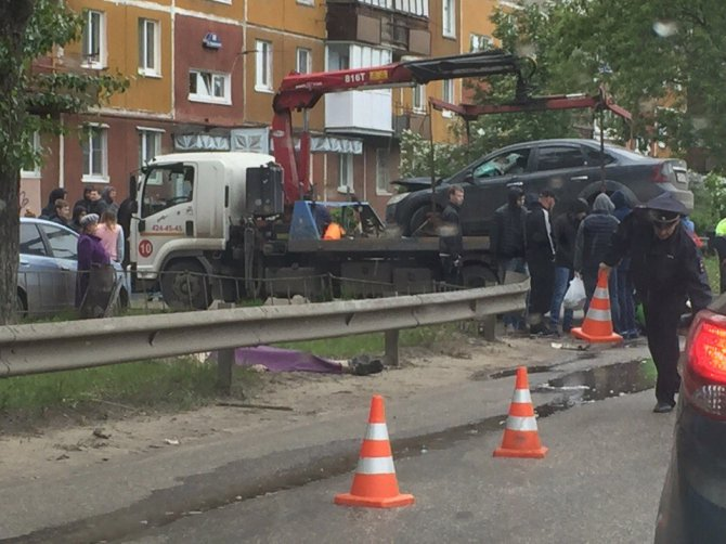 В Нижнем Новгороде при столкновении с автомобилем погиб мотоциклист (3).jpg