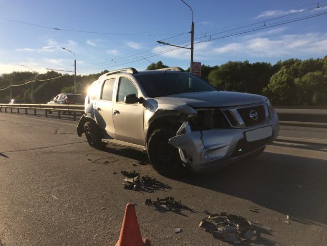 В массовом ДТП на Московском шоссе в Рязани пострадали три человека (3).jpg