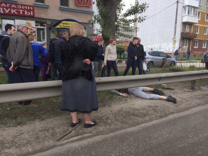 В Нижнем Новгороде при столкновении с автомобилем погиб мотоциклист (2).jpg