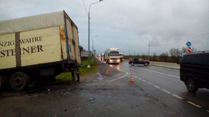 В ДТП с фурой на въезде в Любань погиб человек (3).jpg