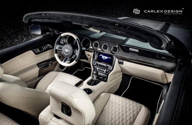 Carlex Design усовершенствовали салон Ford Mustang GT (1).jpg