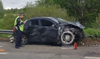 Один человек погиб в ДТП в Одинцовском районе